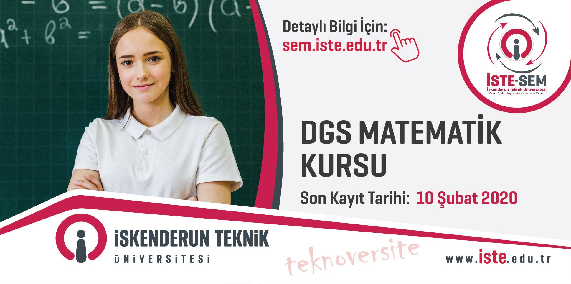 Dikey Geçiş Sınavı (DGS) Matematik Kursu